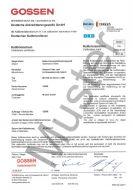DAkkS-Kalibrierzertifikat
