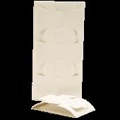 Einfache Klebefallen dreiteilbar